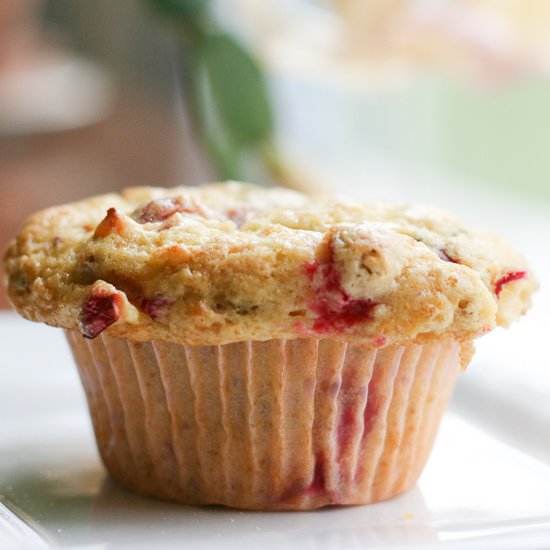 Cranberry Rosemary Muffins