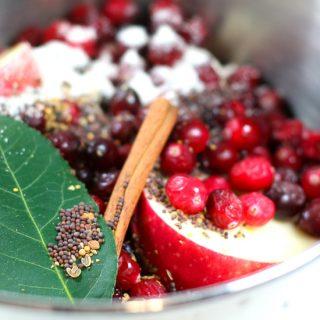 TFF – Apple Cranberry Chutney