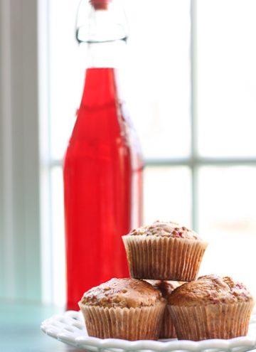 Boozy Cranberry Muffins
