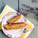 Lavender-Almond Biscotti