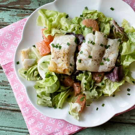 Cod and Grapefruit Salad