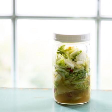 Thai Pickled Cabbage | Sidewalk Shoes