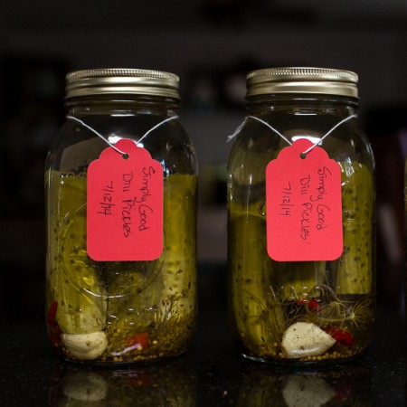 Simply Good Dill Pickles | Sidewalk Shoes