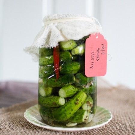 Half-sour pickles | Sidewalk shoes