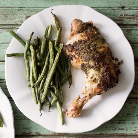 Chicken Baked with Fresh Tarragon Chicken | Sidewalk Shoes