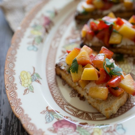 Girard's Champagne Bruschetta | Sidewalk Shoes