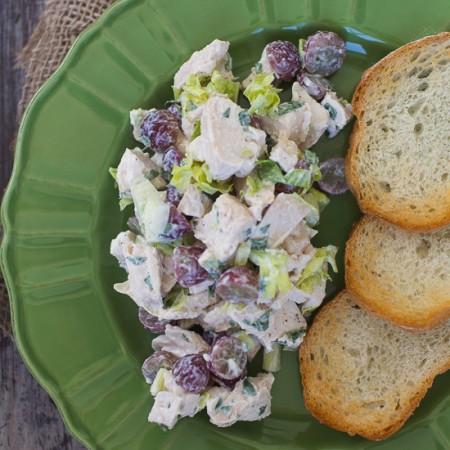 Tarragon Chicken Salad | Sidewalk Shoes