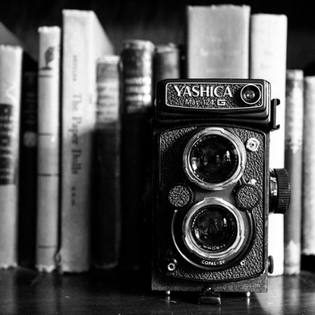 Yashica in Black and White