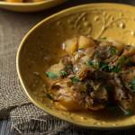 Slow Cooker Crock-pot Chicken Vesuvio