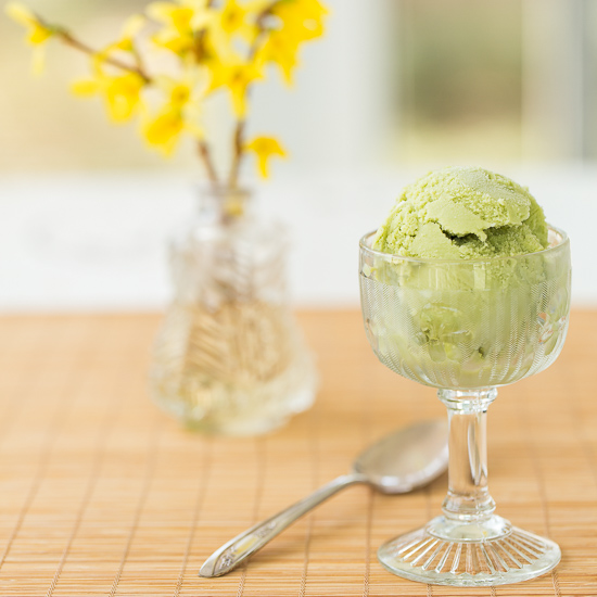 Matcha Green Tea Frozen Yogurt