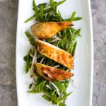 Chile Chicken and Snow Pea Salad