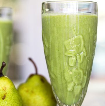 Ginger Pear Smoothie