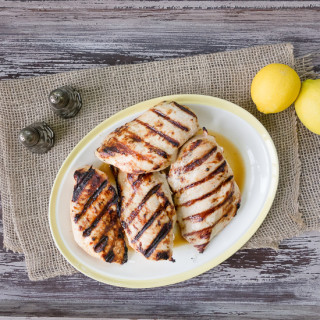 Lemon Grilled Chicken Breasts