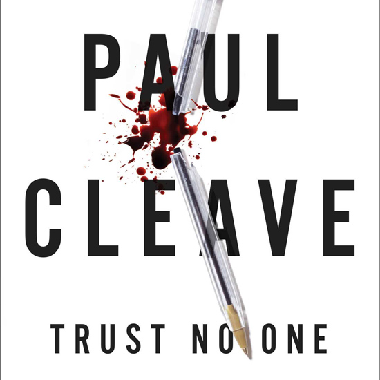 Trust No One Paul Cleave
