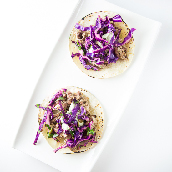 Shredded Pork Tacos with Pepita Slaw