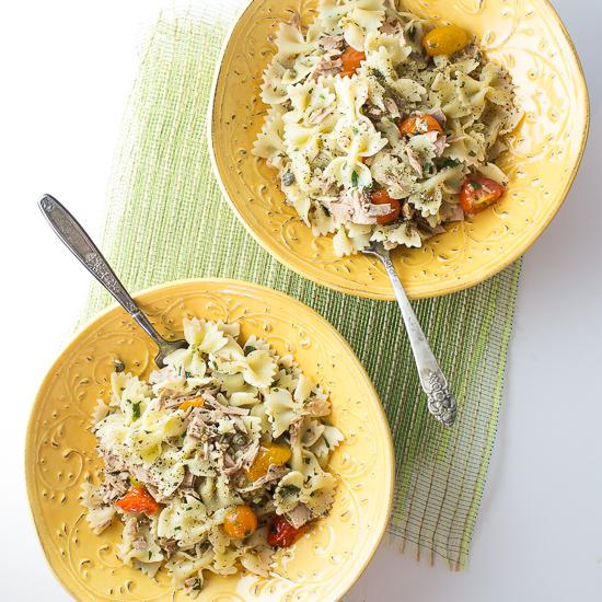 Easy Tuna and Tomato Pasta