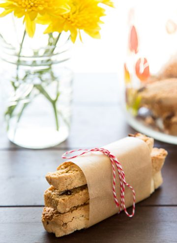 Fig and Fennel Biscotti