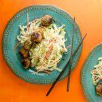 Chicken, Lemongrass, and Ginger Meatballs