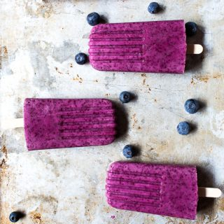 Banana Berry Popsicles
