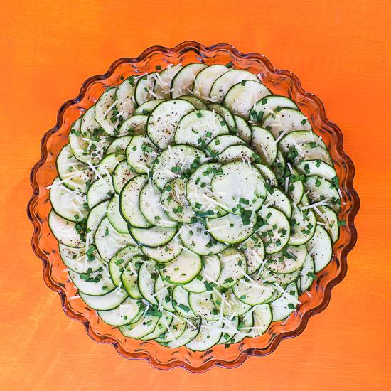 Scalloped Zucchini Salad