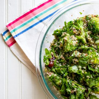 How to Make a Grain Salad | Broccoli Quinoa Salad