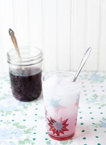 Drinking Vinegars Blueberry Shrub