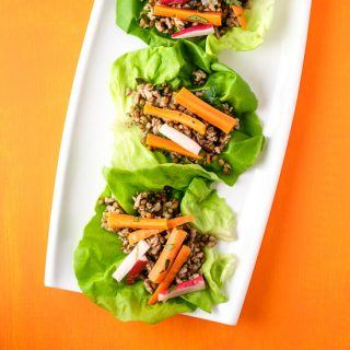 Instant Pot Pork Lettuce Wraps
