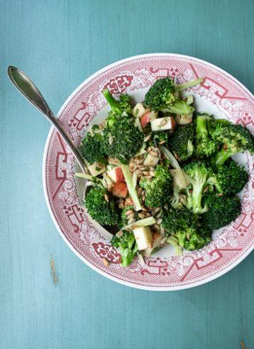 Honey Mustard Broccoli Salad