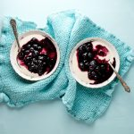 Blueberry Compote with Honeyed Yogurt