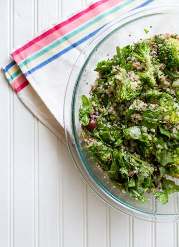 Broccoli Quinoa Salad