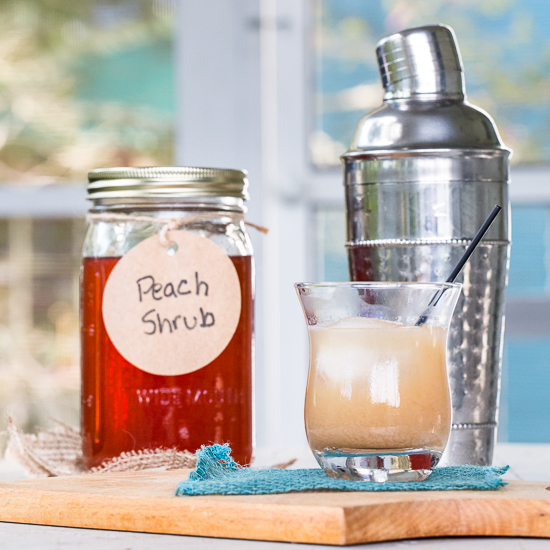Peach Bourbon Sour
