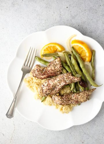 Za'atar chicken tenders