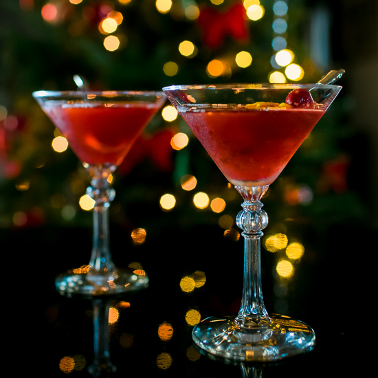 Cranberry Manhattan