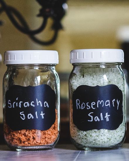 DIY Homemade Herb Salt
