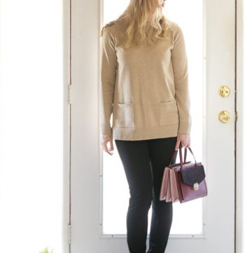 Winter Capsule Wardrobe The Camel Sweater