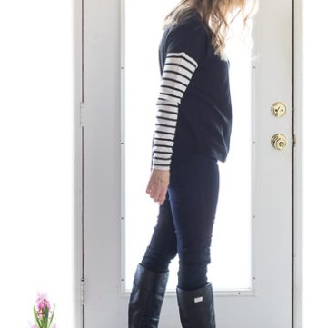 Winter Capsule Wardrobe outfit of the day