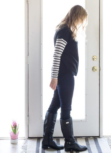 Winter Capsule Wardrobe The Black Sweater