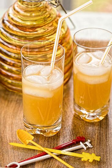 Ginger Beer Cocktails Orange-Ginger Fizz