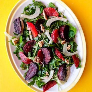 Roasted Beets and blood orange salad