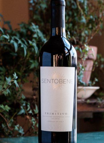 2016 Sentobene Primitivo Wine