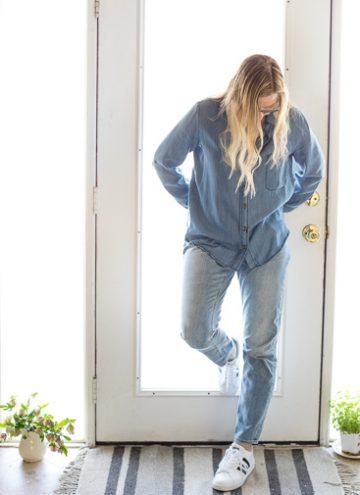 Spring Capsule Wardrobe Essentials Jeans