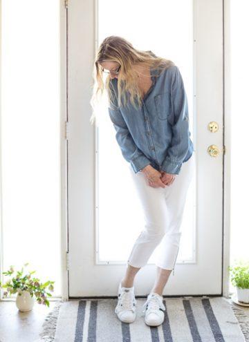 Premise White Pants