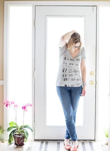 Capsule Wardrobe Grey T Shirt for Fashion Over 50