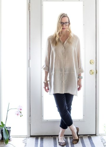 Three Ways to Style a Linen Tunic