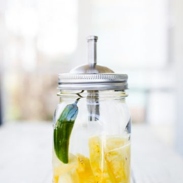 Pineapple Jalapeno Infused Tequila
