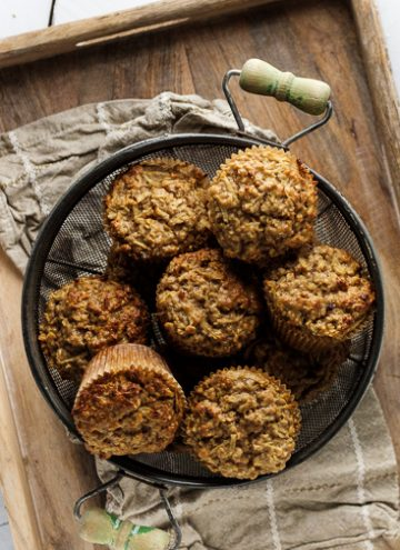 Apple Muffins with Oats