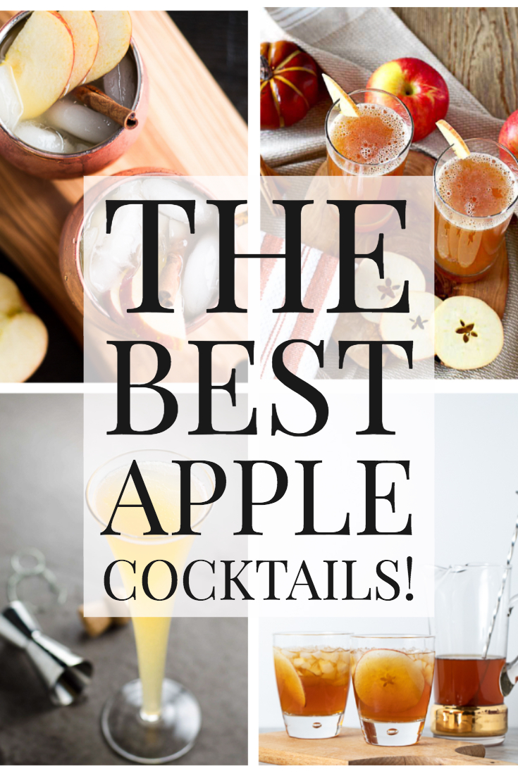 15 Apple Cocktails to Make Right Now!