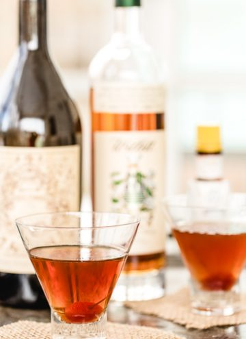 The Classic Manhattan Cocktail