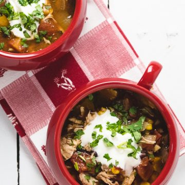 Slow Cooker Chicken Soup with Beans