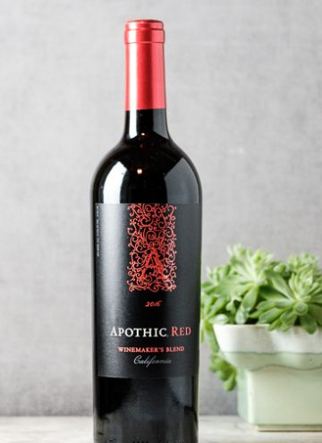 2016 Apothic Red Winemaker's Blend